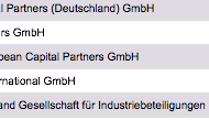 Largest Private Equity Funds Germany List