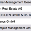 List Real Estate Developers Germany