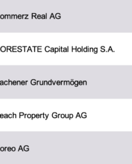 Largest Real Estate Investors Germany Database