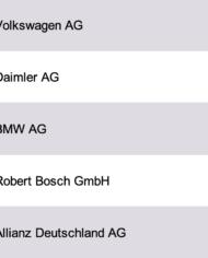 Largest Companies Germany Database