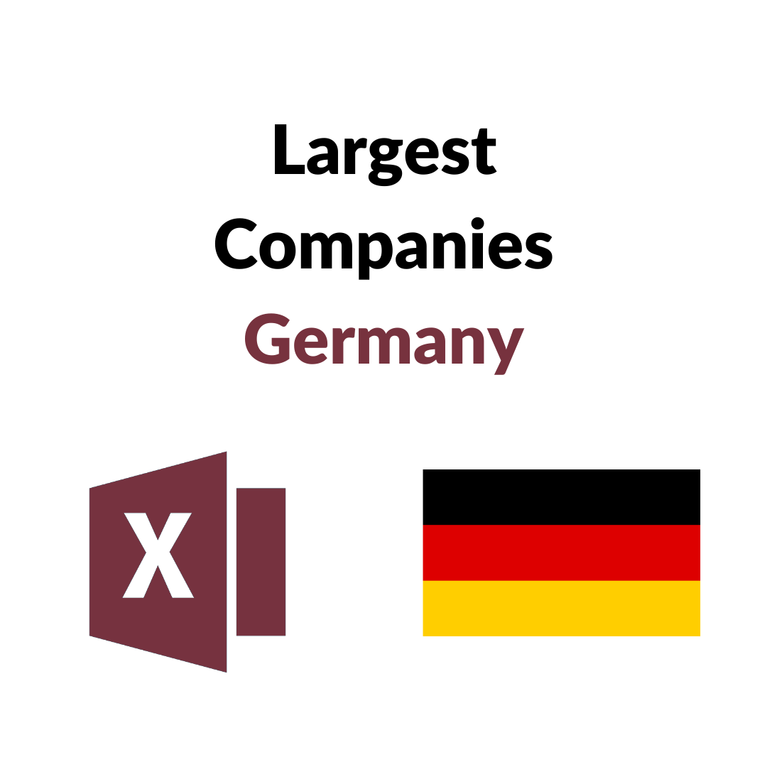 Research Largest Companies Germany List