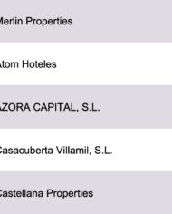 Largest Real Estate Investors Spain Database