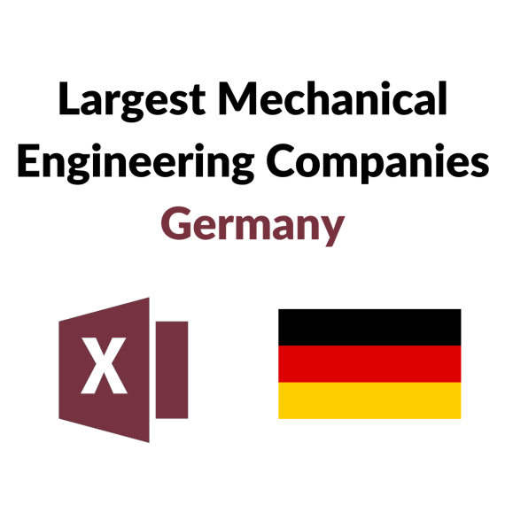Research Germany - List of the Largest Mechanical Engineering Companies Germany