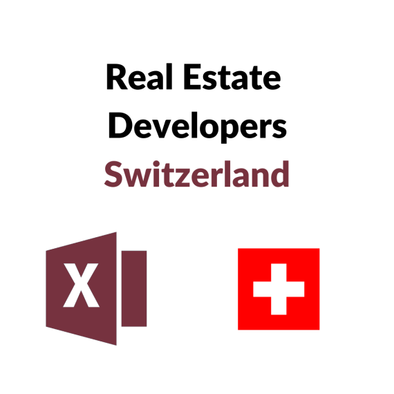 Research Germany - Largest Real Estate Project Developers Switzerland