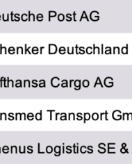 Research Germany – List of the Largest Logistics and Transport Companies in Germany