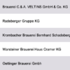 Largest Breweries Germany Database