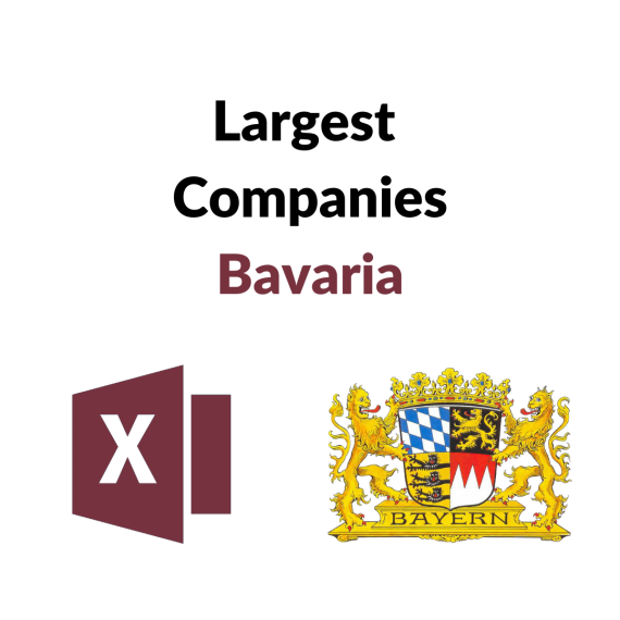 Research Germany - List of the Largest Companies in Bavaria
