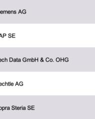 Largest IT Companies Germany Database