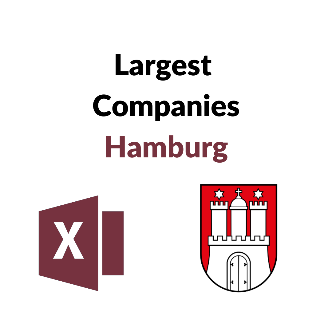 Research Germany - List of the Largest Companies from Hamburg