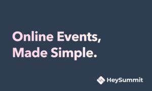 3 Questions to HeySummit