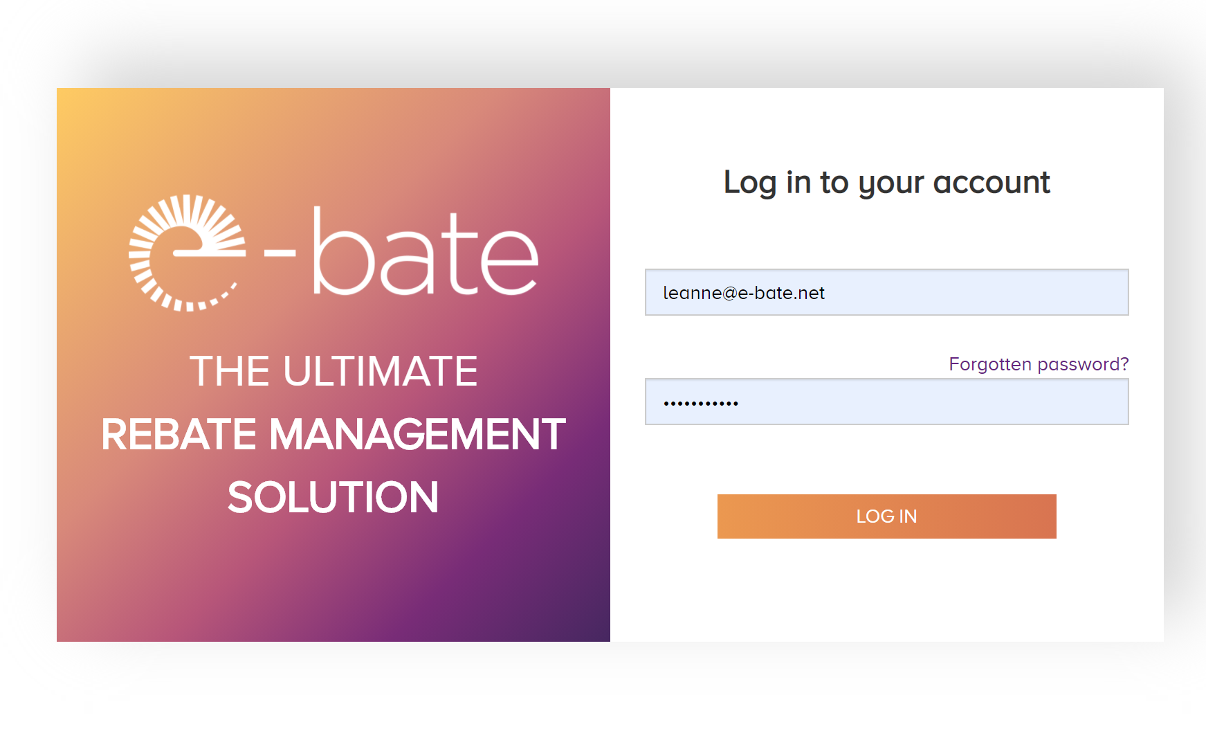 3 Questions to e-bate: Intelligent Rebate Management