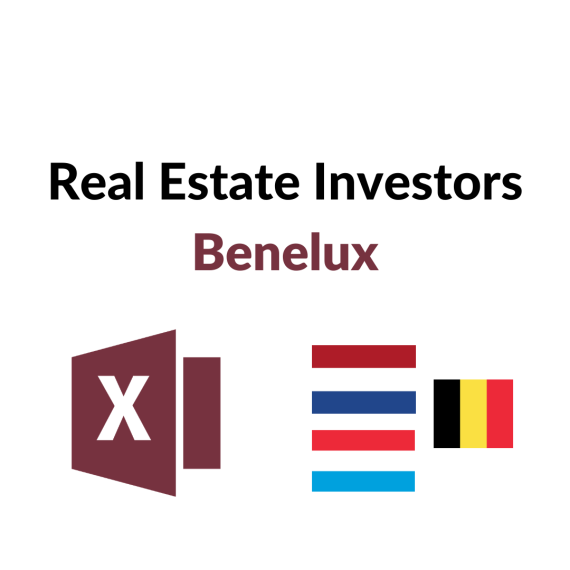 List of Real Estate Investors Benelux