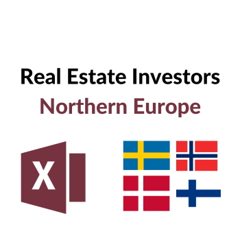 List of Real Estate Investors Northern Europe