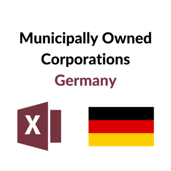Municipally Owned Corporations Germany RG